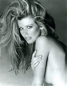 Claudia Schiffer photographed by Francesco Scavullo,