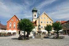 Historische Altstadt - Immenstadt -  im Allgäu - Mit dem Auto 3 Minuten zum Alpsee Camping**** http://alpsee-camping.de