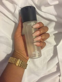 Hxrrell Nails In 2019 Nude Nails Dark Skin Nail Color