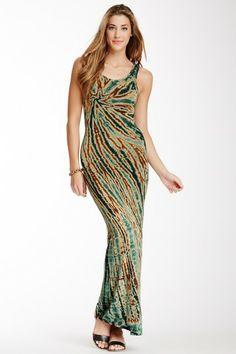 Tie Dye Print Maxi Dress by American Twist on @HauteLook