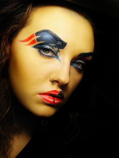 NFL Game Day Makeup