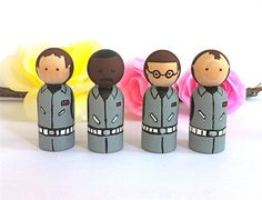ghostbuster peg dolls