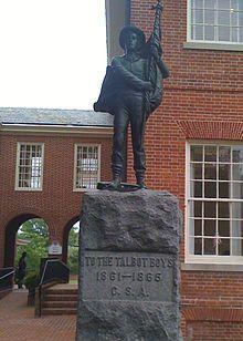 Talbot Boys statue to remain on Easton courthouse lawn