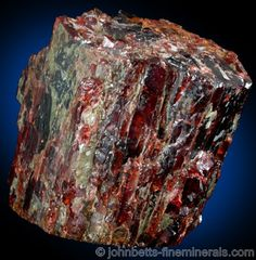Where can one mine for garnets?