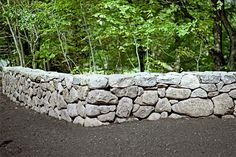 Photo: Russell Kaye | thisoldhouse.com | from 4 Tips for Building Stone Walls in Your Yard