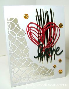 Sizzix Mixed Media and Scribbles and Splat