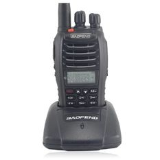 BaoFeng Portable VHF UHF Dual Band Comunidor Handy Walkie Talkie UV82 Black