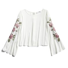 Spring Stylist Picks: Floral bell sleeve blouse
