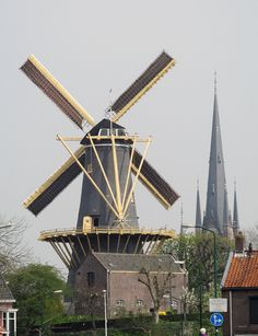 Flour mill De Windhond, Woerden, the Netherlands