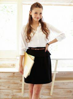 + Black Skirt