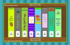 Help your students understand fiction call number order with this interactive teaching tool! Three levels to differentiate instruction Compatible with interactive whiteboards School Library Lessons, Library Lesson Plans, Elementary School Library, Library Skills, Elementary Schools, Library Games, Library Boards, Library Science, Library Activities