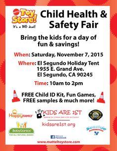 mattel toy donation program | Mattel Toy Store Child Health & Safety Fair - Kids Are 1st