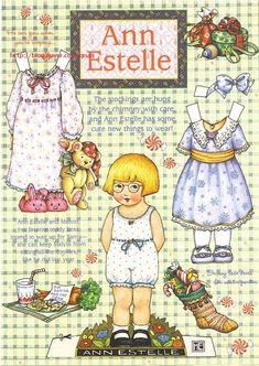 종이인형 (ann estelle) : 네이버 블로그