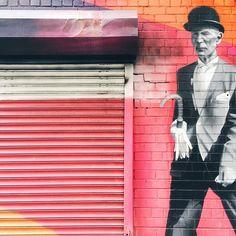 street art | old man mural | Chelsea, NY - via @amyventures
