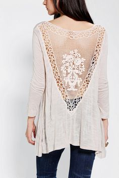 Late in the Day. #trend #crochet #lace