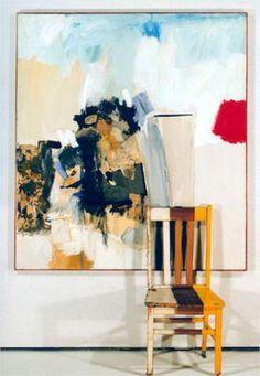 Robert Rauschenberg Pilgrim 1950 mixed mediums with wooden chair, ca. 79 x 54 x 19 in. Robert Rauschenberg, Neo Dada, Action Painting, Painting & Drawing, Art Pop, Modern Art, Contemporary Art, Pop Art Movement, Jasper Johns