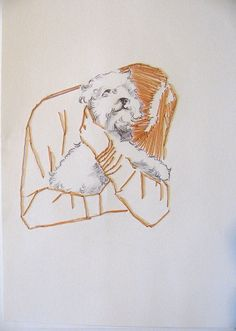 thread drawing, 2010