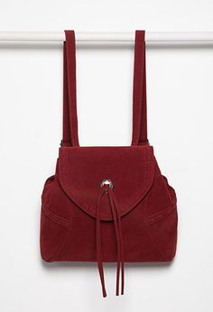 Faux Suede Backpack from Forever 21 $29,90