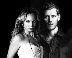 """""""Through the brightest bright and the darkest dark we walked this way together"""" - klaus-and-caroline Fan Art"""