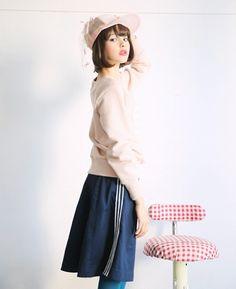 ushijima1129:  keisuke kandaベール付きの野球帽 keisuke kanda/ケイスケカンダ Palm maison store