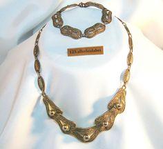 Original Theodor Fahrner Collier & Armband 925 er Silber Collierkette / AU 456 for sale ebay.de EUR 429 set