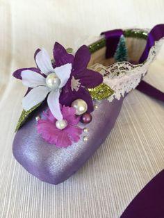Waltz of the Flowers Decorative Pointe Shoe