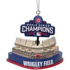 Get this Chicago Cubs 2016 World Series Champions Resin Stadium Ornament at WrigleyvilleSports.com