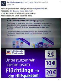 """""""Kauft nicht beim Flüchtlingshelfer""""—Wie die FPÖ gegen hilfsbereite Menschen mobilisiert"""