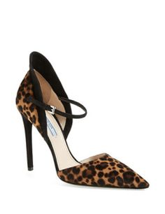 PRADA Mary Jane Hooded Pump