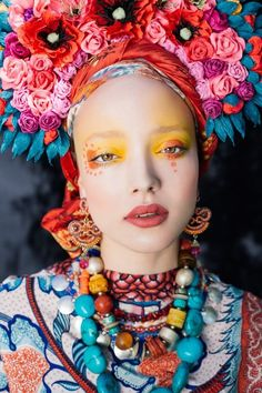 Polish Artists Recreate Traditional Slavic Wreaths as Gorgeous Floral Headdresses | My Modern Met | Bloglovin'