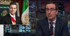 """El comediante británico John Oliver se burló la noche de ayer, durante su programa Last Week Tonight de HBO, del spot publicitario del Gobierno de México """"ya chole con tus quejas"""", el cual fue bajado el mismo día de su difusión tras las críticas que generó."""