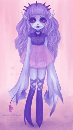 Unnamed Monster girl by miss-octopie on deviantART