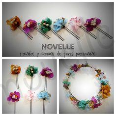 NOVELLE - flores preservadas Wreaths, Decor, Headpieces, Boyfriends, Flowers, Projects, Decoration, Decorating, Door Wreaths