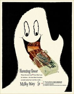 1950's Milky Way ad