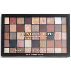 Makeup Revolution Highlighters, Makeup Revolution Eyeshadow, Makeup Revolution Palette, Eyeshadow Makeup, Makeup Cosmetics, Eyeshadows, Revolution Cosmetics, Lipsticks, Eye Palette