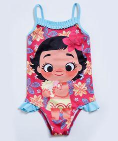 0b6537308694 Image_Maiô Infantil Princesa Moana Babado Disney Maio Infantil, Biquíni De  Bebê, Moda Praia Infantil