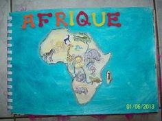 Album à compter sur les animaux d'Afrique
