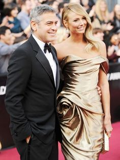 George Clooney and Stacy Keibler split! Read more here: http://www.fembuzz.co.uk/george-clooney-and-stacy-keibler-split-report-1287031_34828