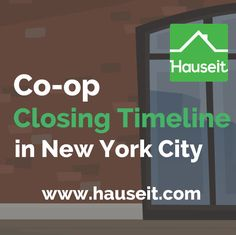 How Long Does It Take to Close on a Co-op in NYC?