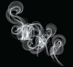 smoke is wild.  It can move in such crazy ways. This is done really well.  I like how they took something awesome and wrote a word with it.