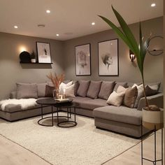 Interior Design Living Room Warm, Decor Home Living Room, Living Room Sofa Design, Home Room Design, Living Room Designs, Living Room And Bedroom In One, Modern Farmhouse Living Room Decor, Cozy Bedroom, Living Room Modern
