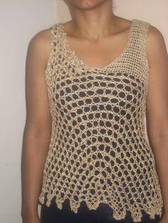 Puntadas de crochet para blusas - Imagui
