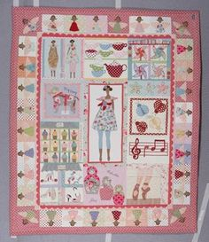 Such a cool idea for a Tilda quilt!