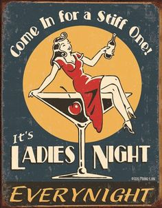 ***Ladies Night - this made me giggle more than it probably should