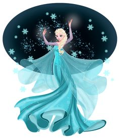 Elsa by *selinmarsou on deviantART