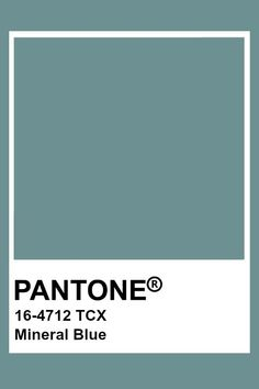 This is a blue with a warmer tone. Pantone Tcx, Pantone Swatches, Pantone 2020, Color Swatches, Colour Pallete, Colour Schemes, Color Trends, Color Combinations, Pantone Colour Palettes