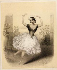 Carlotta Grisi dans la Péri - 1846