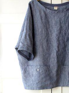 Vetement Fashion, Linen Tunic, Fashion Sewing, Linen Dresses, Sewing Clothes, Shirt Jacket, Shirt Dress, Clothing Patterns, Shirts
