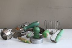 Instant Collection of Vintage Kitchen Tools by MyVintageLane, $30.00