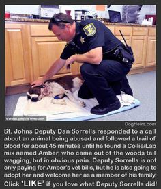 seriously crying right now! YOU GO DEPUTY SORRELLS!
